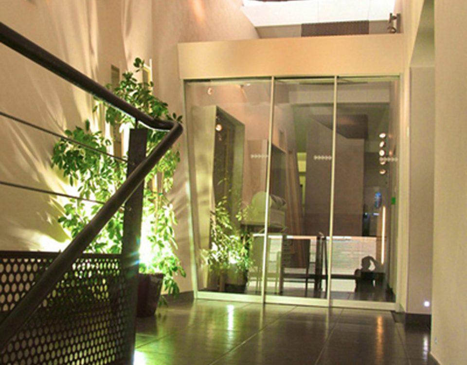 Cabinet Marcucci & Combes : Salle d'attente ouverte