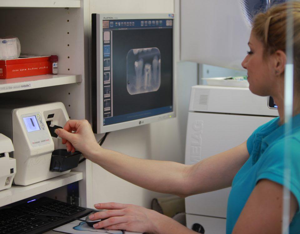 Cabinet Marcucci & Combes : Radiologie intra-buccale numérique instantanée
